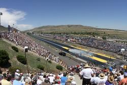 Grandstand view Bandimere Speedway