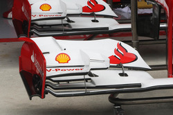 Ferrari F2012 front wing detail
