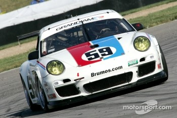 #59 Brumos Racing Porsche: Andrew Davis and Leh Keen