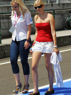 Women in the pits