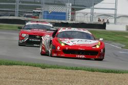 #69 AIM Autosport Team FXDD with Ferrari Ferrari 458: Emil Assentato, Jeff Segal