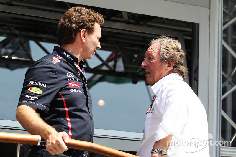 Christian Horner, Red Bull Racing Team Principal with this father Gary Horner