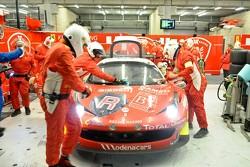 #72 Kessel Racing Ferrari 458 Italia: Claude-Yves Gosselin, Marc Rostan, Pierre Bruneau, Lorenzo Bontempelli