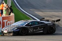 #24 Blancpain-Reiter Lamborghini Gallardo LP600+: Marc Hayek, Peter Kox, Jos Menten, Albert von Thurn und Taxis