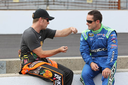 Jamie McMurray and Casey Mears