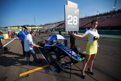 Grid girl of  William Buller