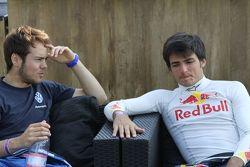 Tom Blomqvist, Carlos Sainz Jr