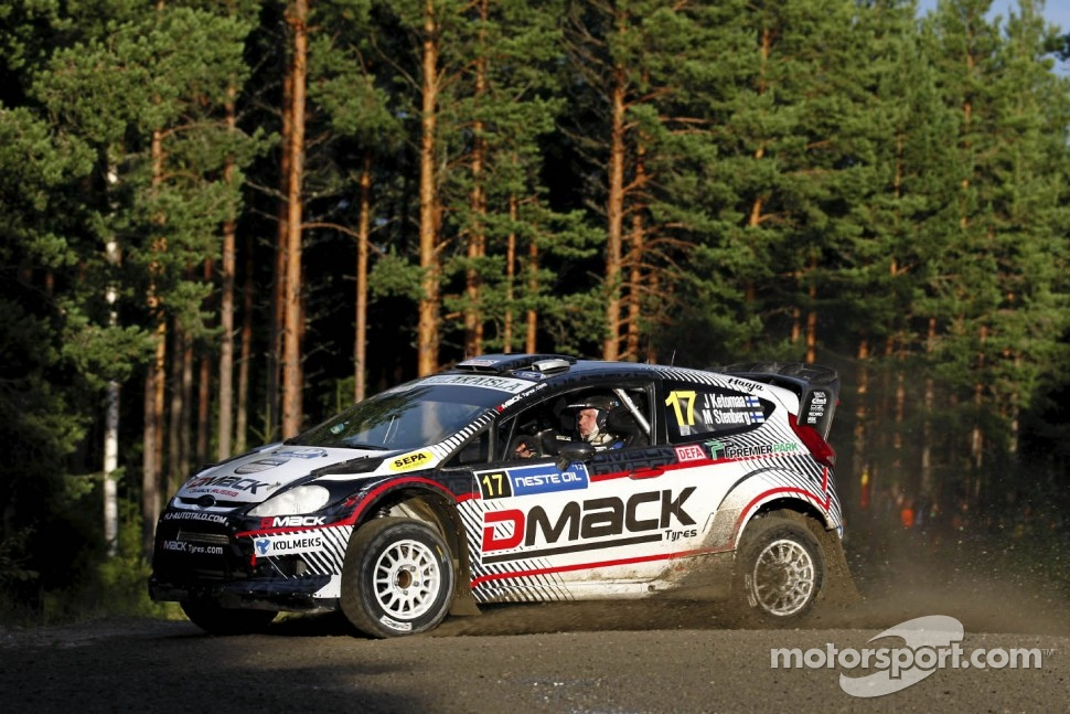 Jari Ketomaa and Mika Stenberg, Ford Fiesta RS WRC