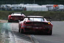 #42 Sport Garage Ferrari 458 Italia: Romain Brandela, Lionel Comole, Kevin Despinasse, Mickaël Petit