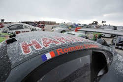 #47 Porsche GT3R: Romain Dumas under the snow