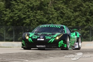 #01 Extreme Speed Motorsports Ferrari F458: Scott Sharp, Johannes van Overbeek
