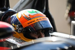 Karun Chandhok in deep concentration ahead of qualifying