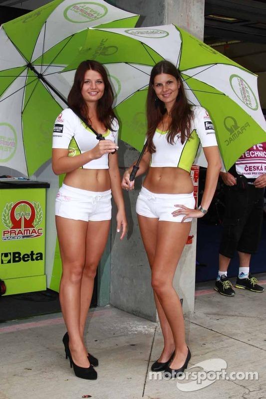 Lovely Pramac girls