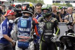 Pole winner Jorge Lorenzo, Yamaha Factory Racing, second place Cal Crutchlow, Yamaha Tech 3