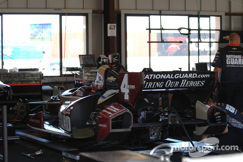 J.R. Hildebrand, National Guard Panther Racing Chevrolet