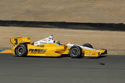 Helio Castroneves, Penske Truck Rental Chevrolet