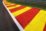 Kerb detail at Eau Rouge