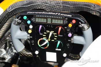 Sahara Force India F1 VJM05 steering wheel