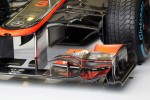 McLaren front wing detail