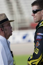 Carl Edwards, Roush Fenway Racing Ford and Jack Roush