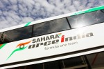 Sahara Force India F1 Team truck