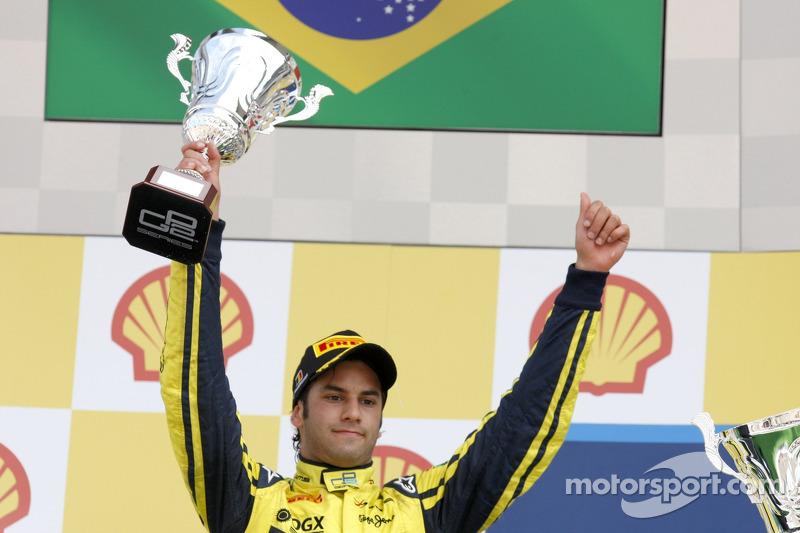 Podium: second place Felipe Nasr