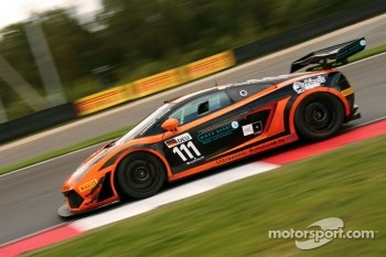 #111 Lamborghini Gallardo LP560-4: Hari Proczyk, David Mengesdorf