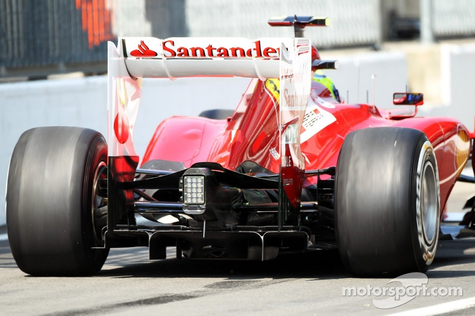 Felipe Massa, Ferrari, rear diffuser