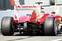 Felipe Massa, Ferrari, rear diffuser