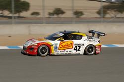 #42 Team Sahlen TheRaceSite.Com Mazda RX-8: Joe Nonnamaker, Wayne Nonnamaker