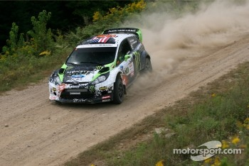 Ken Block and Alex Gelsomino, Ford Fiesta RS
