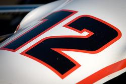 Car of Will Power, Verizon Team Penske Chevrolet, detail