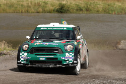 Paulo Nobre and Edu Paula, Mini John Cooper Works WRC