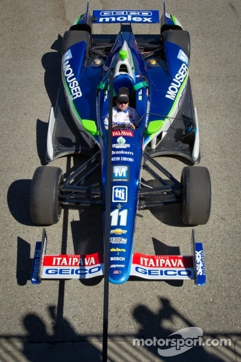 Car of Tony Kanaan, KV Racing Technology Chevrolet