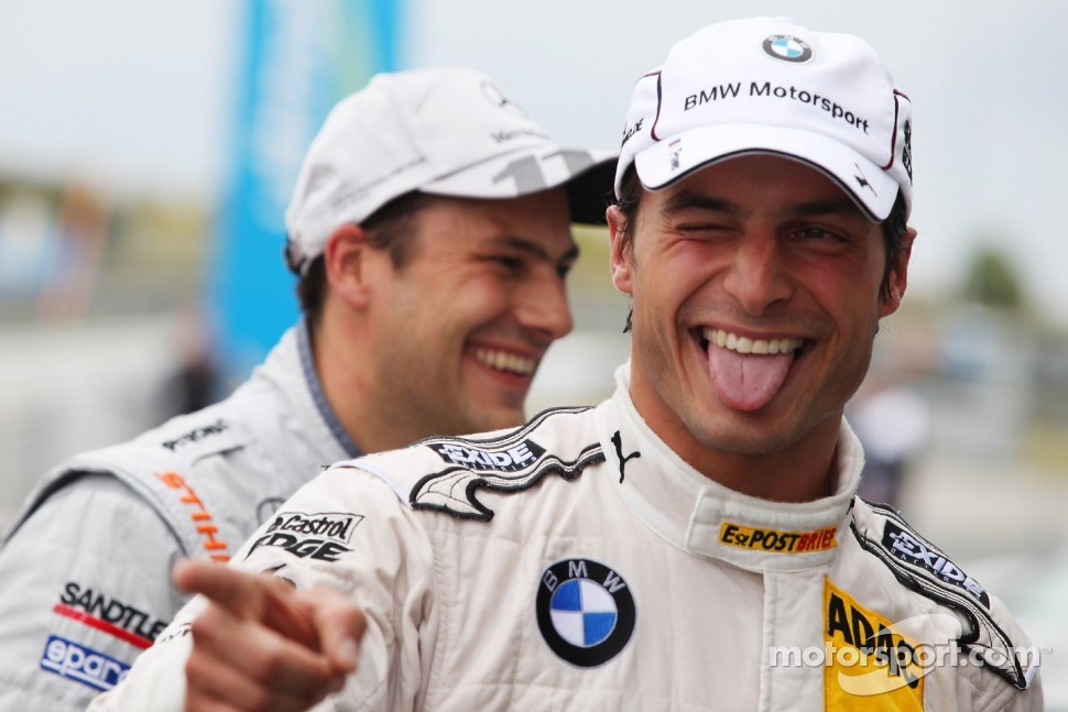 Pole for Bruno Spengler, BMW Team Schnitzer BMW M3 DTM