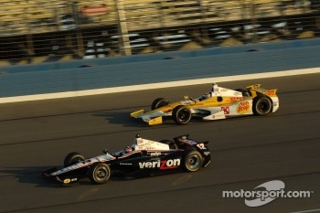 Will Power, Verizon Team Penske Chevrolet and Ryan Hunter-Reay, Andretti Autosport Chevrolet