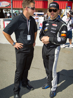 A.J. Allmendinger and Oriol Servia, Dreyer & Reinbold Racing Chevrolet