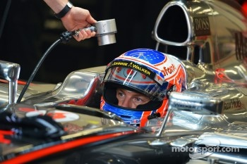 Jenson Button, McLaren.