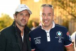 Welcome cocktail, Patrick Dempsey, Actor and Tom Coronel, BMW 320 TC, ROAL Motorsport