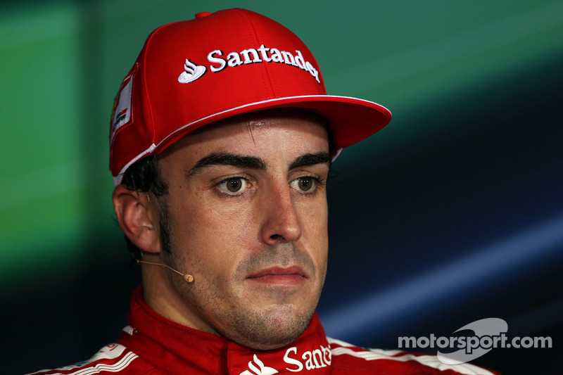 FIA press conference: third place Fernando Alonso, Scuderia Ferrari
