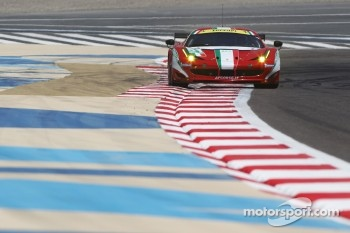 #51 AF Corse Ferrari F458 Italia: Giancarlo Fisichella, Gianmaria Bruni, Toni Vilander