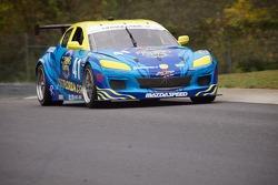 #41 Bass2BillFish, Visit Florida, Mazda Dempsey Racing Mazda RX-8: Charles Espenlaub, Charles Putman