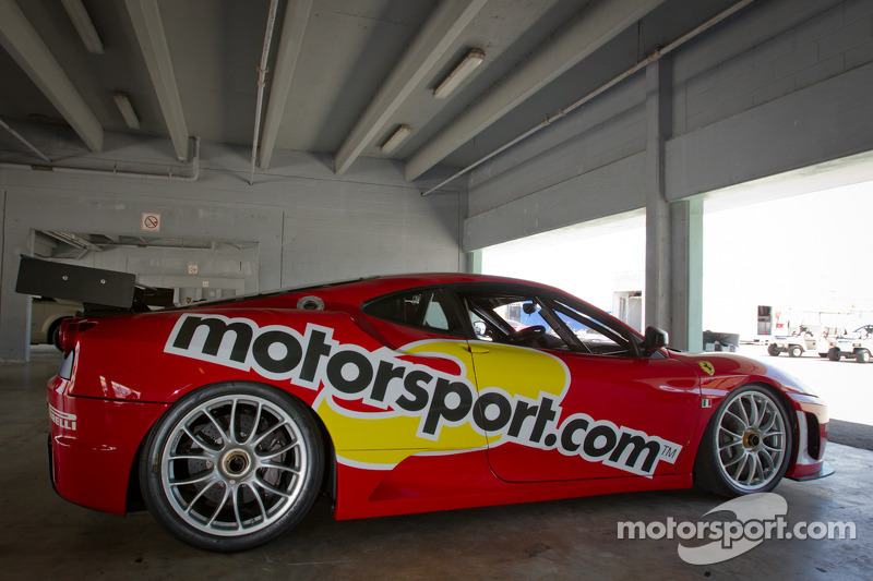 Der Motorsport.com Ferrari F430 Challenge
