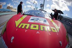 #24 Ferrari of Beverly Hills 458TP car detail