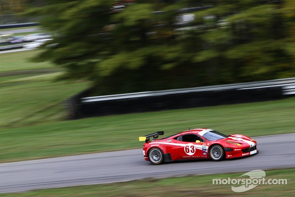 # 63 Scuderia Corsa Ferrari 458: Alessandro Balzan, Johannes van Overbeek