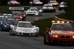 New Race Leader -Ricky Taylor #10 SunTrust Racing Corvette