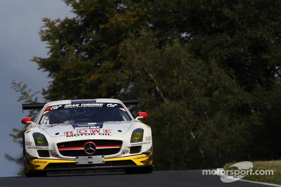 #6 ROWE Racing Mercedes SLS AMG GT3: Nico Bastian, Marko Hartung, Mark Bullitt