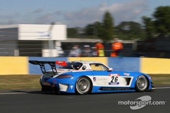 #26 Graff Racing Mercedes SLS AMG: Jacques Laffite; Renaud Derlot
