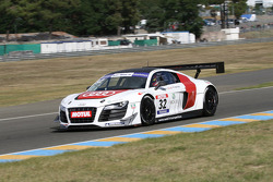 #32 Team Audi France  Audi R8 LMS Ultra: David Hallyday; Stéphane Ortelli