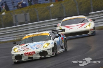 #27 LMP Motorsport Ferrari F430 GTC: Yutaka Yamagishi, Takuto Iguchi